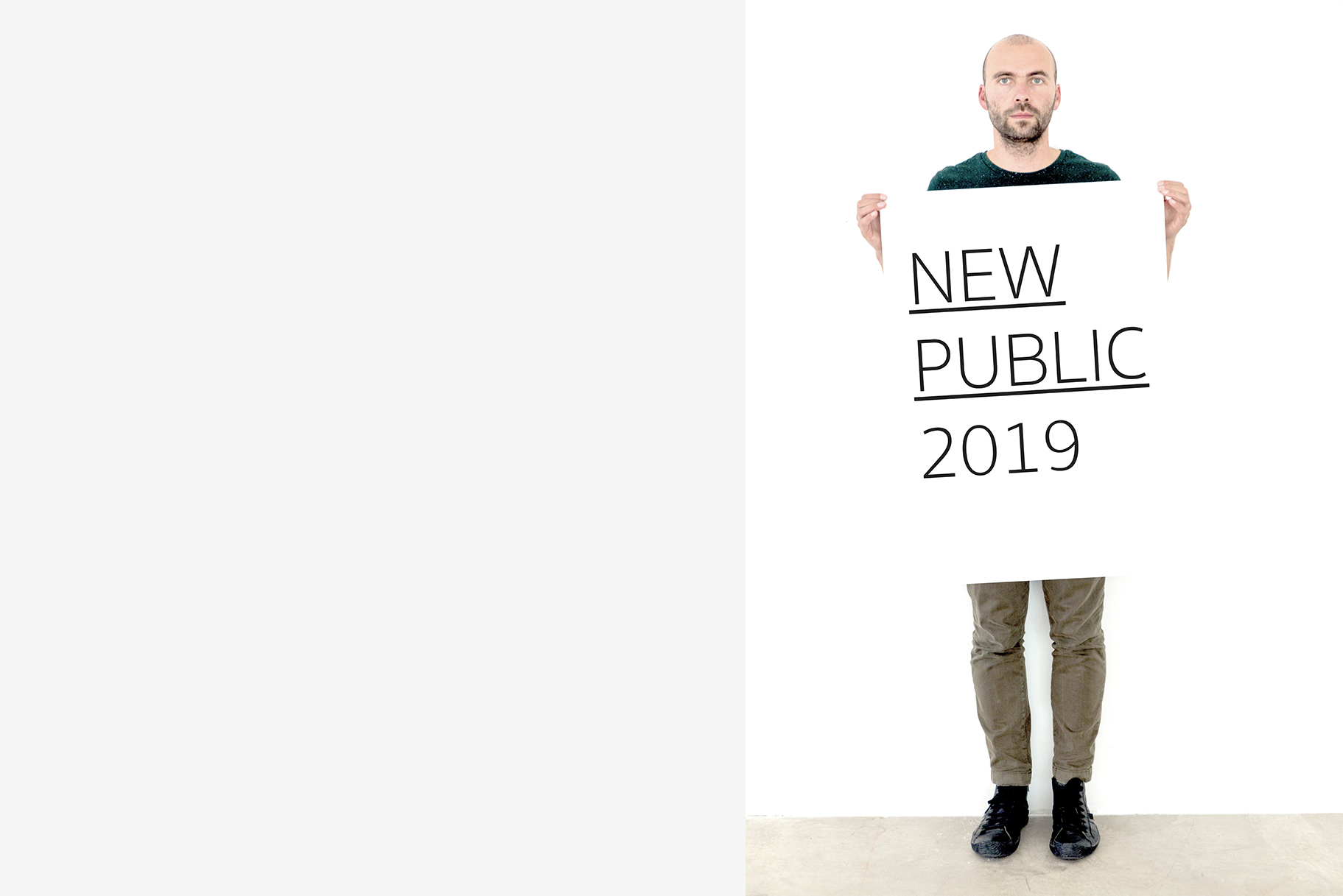 Hannes Egger, New Public, 2019. Courtesy the artist