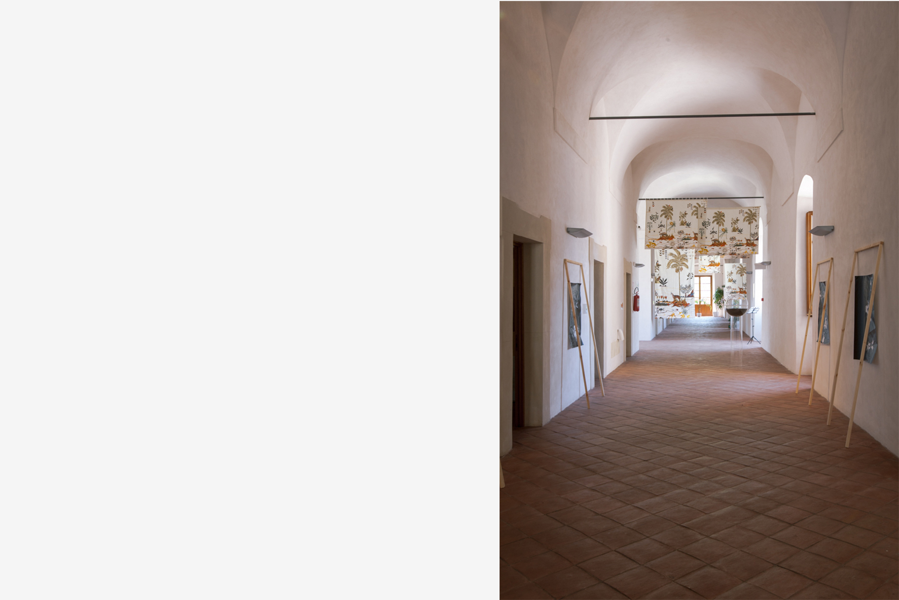 Hortus (in)conclusus, exhibition view. Photo CAVE Studio